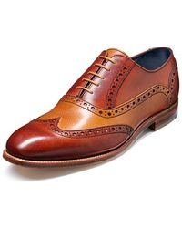 Barker - Grant Leather Brogue - Lyst