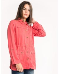 Joules Cassidy Safari Jacket (y) - Red