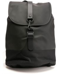 Rains Drawstring Backpack - Black