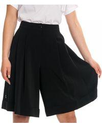 Calvin Klein Side Button Skirt - Black