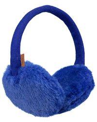 Barts Plush Earmuffs - Blue
