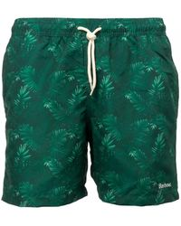 Barbour - Tropical Swim Shorts - Lyst