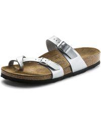 a8213fcce0a Birkenstock - Mayari Birko-flor® Ladies Sandal - Lyst