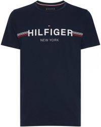 22ed14bd Tommy Hilfiger T-Shirts - Men's Tees & Polo Shirts - Lyst