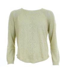 Thought Annabel Womens Hemp Knit Top - Green