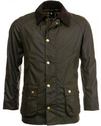Barbour Ashby Wax Jacket - Green