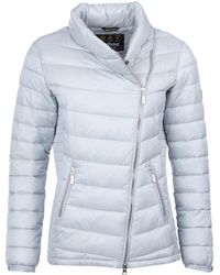 Barbour Jurby Womens Quilt - White