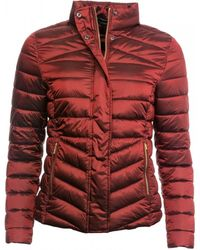 Barbour Vartersay Quilted Jacket - Red