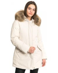 Woolrich Luxury Arctic Down Coat - White