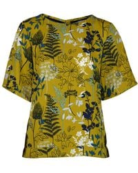 LILY & ME Dulverton Woodland Meadow Womens Top - Multicolour