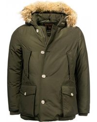 Woolrich Arctic Mens Anorak - Green