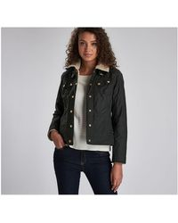 Barbour Garrow Wax Jacket - Black