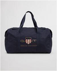 GANT D1. Archive Shield Duffle Bag - Blue