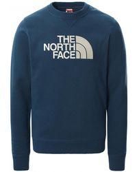 The North Face Drew Peak Crew - Blue