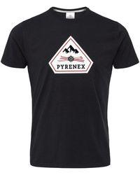 Pyrenex Karel Logo - Black