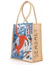 Seasalt - Jute Shopper - Lyst