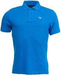 Barbour Sports Polo - Blue