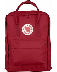 Fjallraven Kanken Classic Backpack - Red