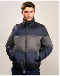 Armani Exchange Giacca Piumino Down Jacket - Blue