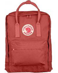 Fjallraven Kanken Classic Backpack - Red
