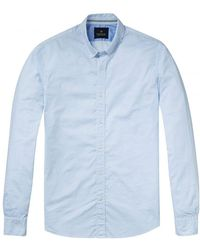 Scotch & Soda - Relaxed Fit Classic Longsleeve Oxford Mens Shirt - Lyst