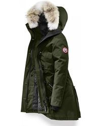 Canada Goose Rossclair Ladies Parka - Green