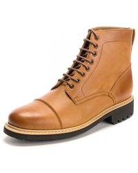 Grenson Joseph Vegan Tan Shoes - Brown