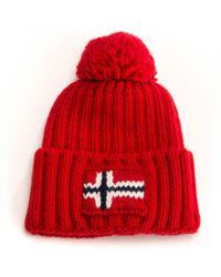 Napapijri Semiury Unisex Hat - Red
