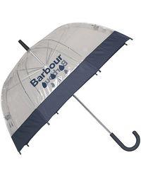 Barbour Raindrop Womens Umbrella - Blue