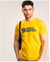 Fjallraven Fjヤllrヤven Logo T-shirt M - Yellow