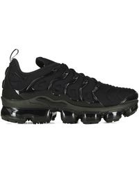 Nike Baskets noires Air VaporMax Plus