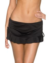 Swim Systems Flirty Skirt C286onyx - Black