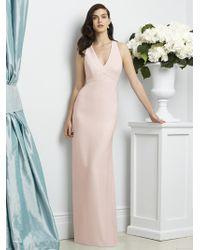 Dessy Collection - Dress In Blush - Lyst