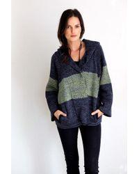 Goddis - Fiji Hooded Knit Jacket In Shogun - Lyst