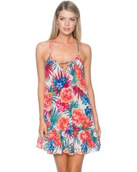 Sunsets Swimwear - Riviera Dress Cover Up Fiji - Lyst