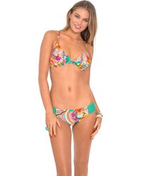 Luli Fama - Chasing Waterfalls Crochet Side Full Bottom In Multicolor (l) - Lyst