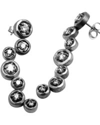 Avanessi - Halo Drop Earrings - Lyst