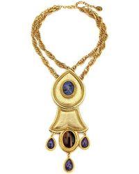 Ben-Amun - Gypset Teardrop Statement Necklace - Lyst