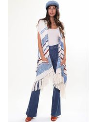 Goddis - Easy Rider Sleeveless Cape In Rustic Canyon - Lyst