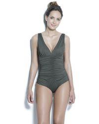 Estivo Swimwear - Removable Cups Tummy Control & Trim /sld/ - Lyst