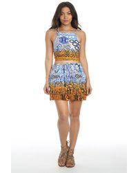 Raga - Until Sunrise Short Skirt - Lyst