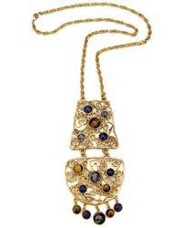 Ben-Amun - Gypset Metal Lace Pendant Necklace - Lyst