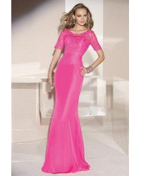 Alyce Paris - Mother Of The Bride - Dress In Wow Pink - Lyst