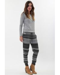 Goddis - Sutton Sweatpant In Charcoal Smoke - Lyst