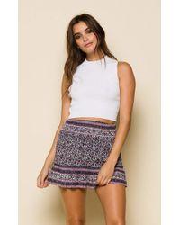 Raga - Sydney Short Skirt - Lyst