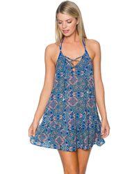 Sunsets Swimwear - Riviera Dress Cover Up 952pomp - Lyst