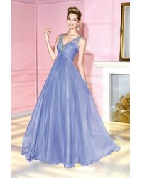 Alyce Paris 6284 Prom Dress In Periwinkle - Blue