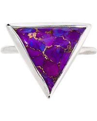 Heather Hawkins - Trillion Ring - Purple Mojave Turquoise - Lyst
