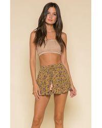 Raga - Sofia Mini Skirt - Lyst