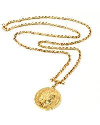 Ben-Amun | Moroccan Coin Long Pendant Necklace | Lyst